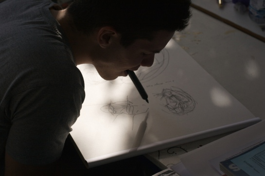 Drawing at AHO